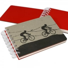 The Art Rooms 2 Man Cycling Team Notebook