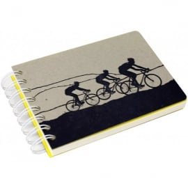 The Art Rooms 3 Man Cycling Team Notebook
