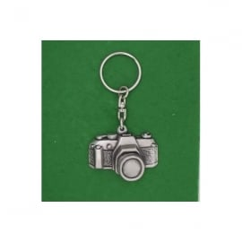 David Hindwood 35mm Camera Pewter Keyring
