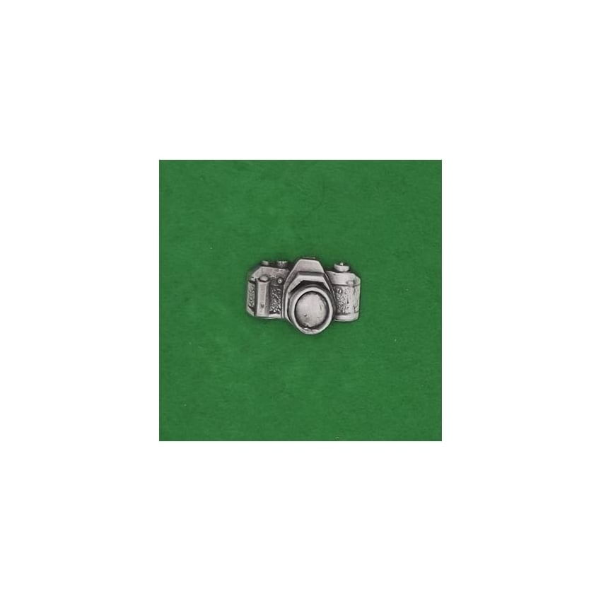 David Hindwood 35mm Camera Pewter Lapel Pin
