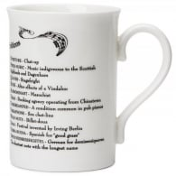 Music Gifts Company ABC Of Music Bone China Mug