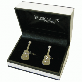 Music Gifts Company Acoustic Guitar Cufflinks