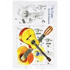 Little Snoring Acoustic Guitar Towel