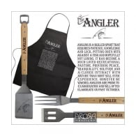 Arora Design Angler Barbeque and Black Apron Set