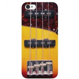 Cubic Bass Guitar iPhone 5 Case - Live Fast Scribe Young