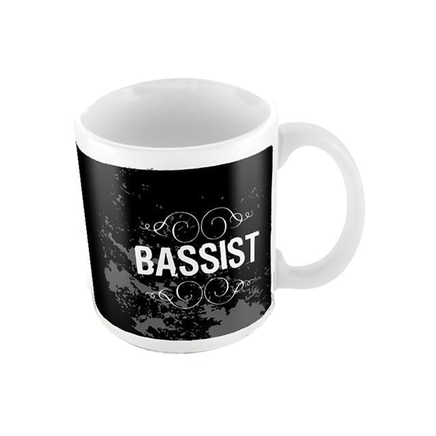 Pyramid Bassist Ceramic Mug