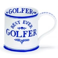 Dunoon Best Ever Golfer Iona Fine China Mug