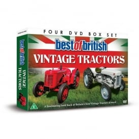 Demand Media Best Of British Tractors 4 x DVD Gift Set