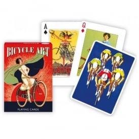 Gibsons Bicycle Art Playing Cards