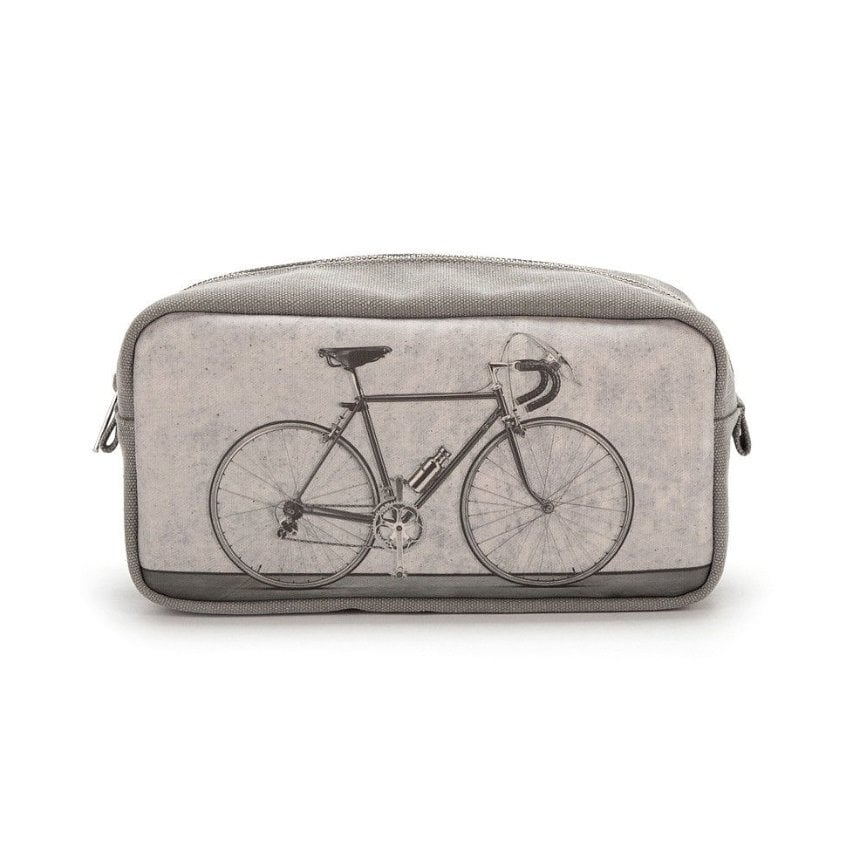 Catseye Bicycle Men's Monochrome Wash Bag by Catseye