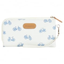 Brakeburn Bikes Clutch Purse in Stone