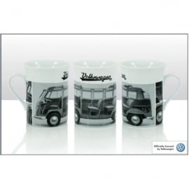Elgate Black and White Cross Section Campers VW Mug