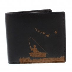 PellMell Boat Fishing Leather Card and Coins Wallet