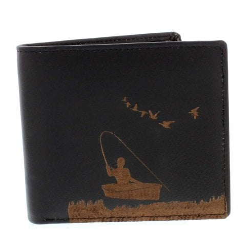 PellMell Boat Fishing Leather Card Wallet