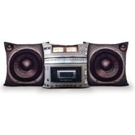 Bubblegum Stuff Boombox Cushion 3 Piece Set