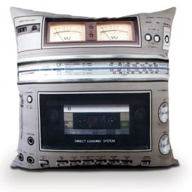 Bubblegum Stuff Boombox Tape Filled Cushion