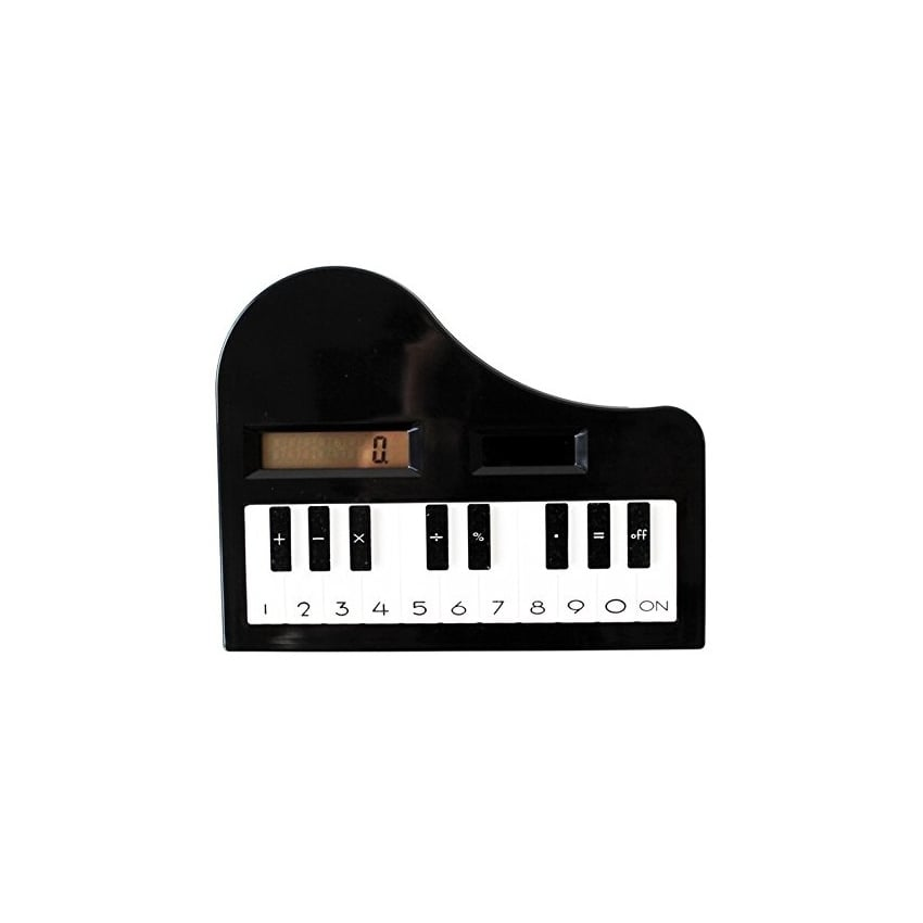 Clere Concepts Calculator - Black Piano