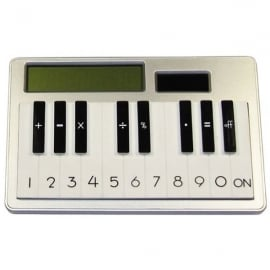 Clere Concepts Calculator Keyboard in Silver
