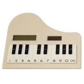 Clere Concepts Calculator - White Piano