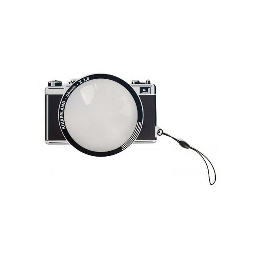 Kikkerland Camera Bookmark with Magnifying Glass