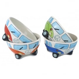 Giftworks Campervan Ceramic Bowl with Wheels