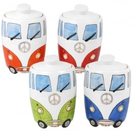 Giftworks Campervan Ceramic Cookie Jar