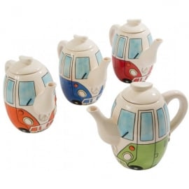 Giftworks Campervan Ceramic Tea Pot