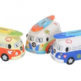 Giftworks Campervan Design Money Bank