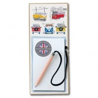 Padblocks Campervan Magnetic Wooden Notepad