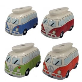Giftworks Campervan Money Bank