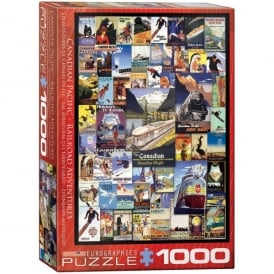 EuroGraphics Canadian Pacific Adventures Jigsaw ( 1000 pieces)