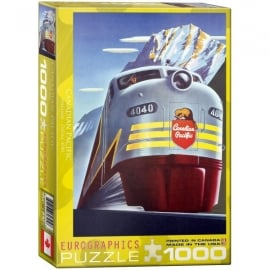 EuroGraphics Canadian Pacific Diesel 4040 Jigsaw - 1000 Pieces