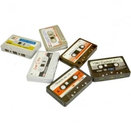Tins of Treats Cassette Tape Filled with Fruit Drops