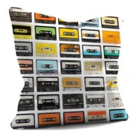 House Of Cushions Cassettes Filled Cushion