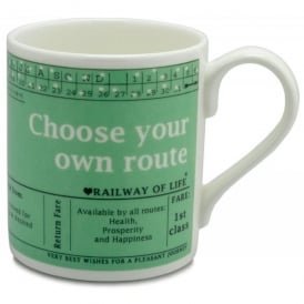 McLaggan Smith Choose Your Own Route Large Mug