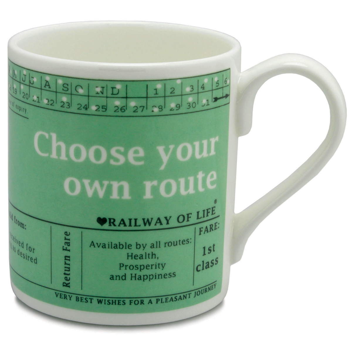 Mclaggen Smith Choose Your Own Route Large Mug