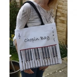 Little Snoring Chopin Tote Shopping Bag