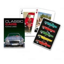 Gibsons Classic Cars Playing cards