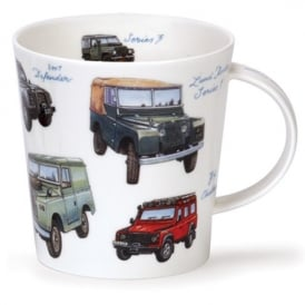 Dunoon Classic Collection Land Rover Cairngorm Mug