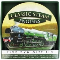 Demand Media Classic Steam Engines 5 x DVD Tin Gift Set
