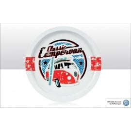 Elgate Classic VW Campervan Round Tin Tray - Set of 3