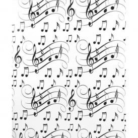 Little Snoring Clefs and Staves Gift Wrap