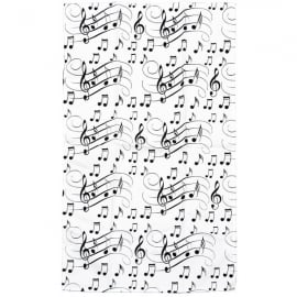 Little Snoring Clefs and Staves Tea Towel