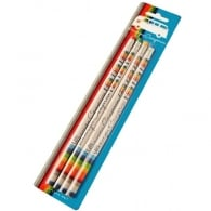 Elgate Coloured Stripes VW Campervan Pencil Set of 4
