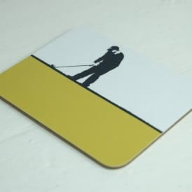 The Art Rooms Contemporary Golf Coaster