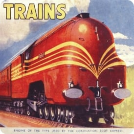 Half Moon Bay Coronation Scot Express Coasters - Set of 4