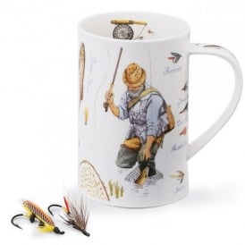 Dunoon Country Pursuits Fly Fishing Dorset Mug