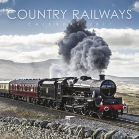 Country Railway Calendar 2017