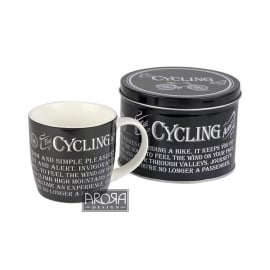 Arora Design Cycling Addict Mug and Tin