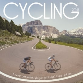 Carousel Calendars Cycling Calendar 2018
